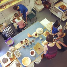 People's Pottery class