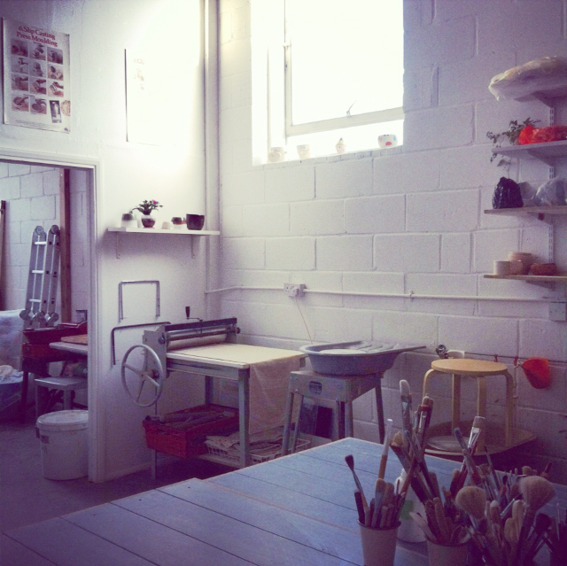 ceramics studio london hot desk